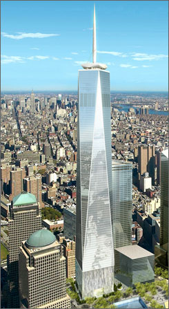 The New WTC (1 WTC) Or One World Trade Center (its Old Name Was Freedom  Tower) Is One Of The New Tower In New York City. Itu0027s Constructing On The  Place Of ...
