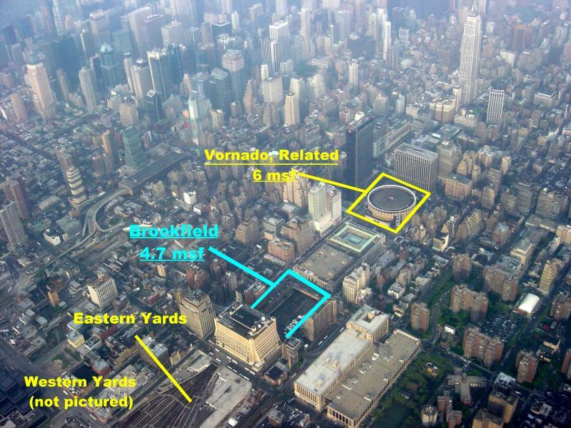 New York Architecture Images Hudson Yards Brookfield Towers