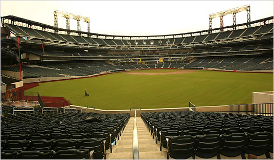 New York Architecture Images New Mets Stadium Citifield
