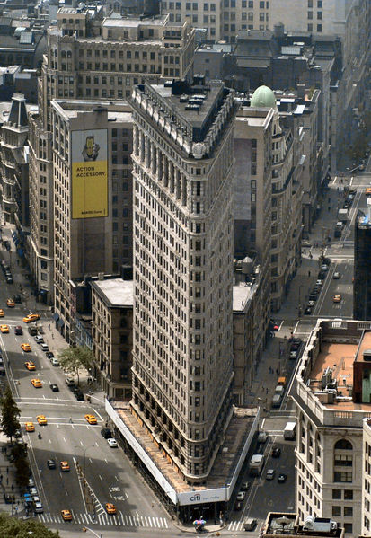 new york architecture images the flatiron building. Black Bedroom Furniture Sets. Home Design Ideas