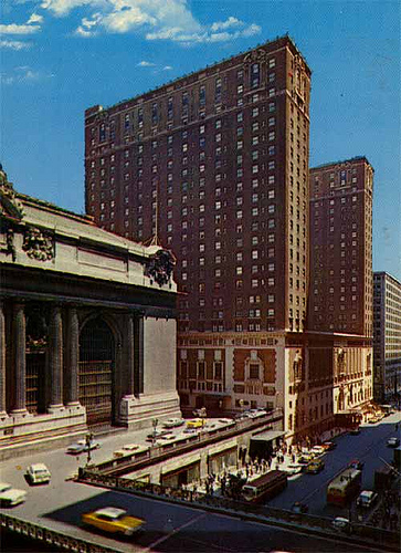 New York Architecture Images The Commodore Hotel