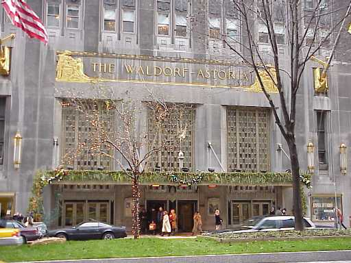 New York Architecture Images- Waldorf-Astoria Hotel