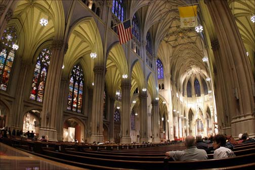 St Patricks Cathedral Is The Largest Decorated Neo Gothic Style Catholic In North America It Seat Of Archbishop Roman