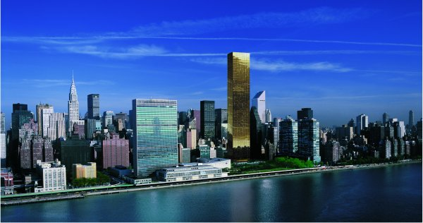 New York Architecture Images Trump World Tower