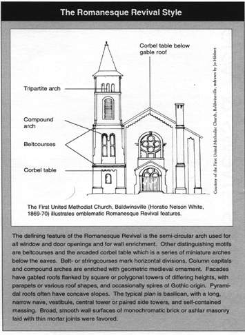The Gothic Revival And Greek In United States First Example Of