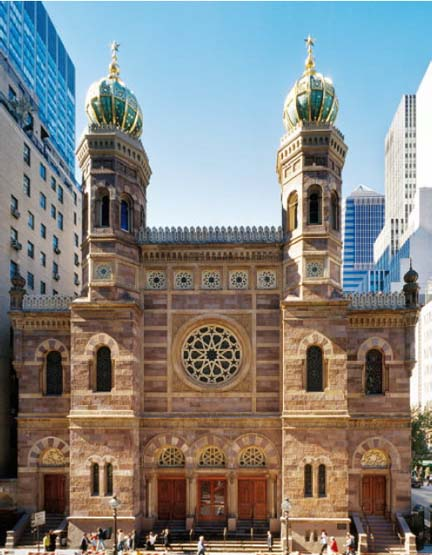 New York Architecture Images- Central Synagogue