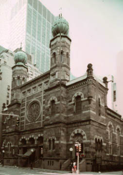 Top Ten New York Architecture Synagogues