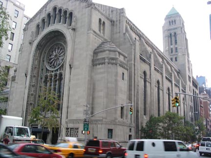 New York Architecture Images- Temple Emanu-El (Synagogue)