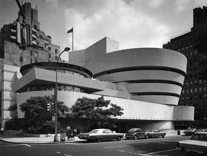 New York Architecture Images The Solomon R Guggenheim Museum