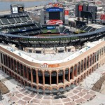 aerial citi field yankee stadium stadiumgallery