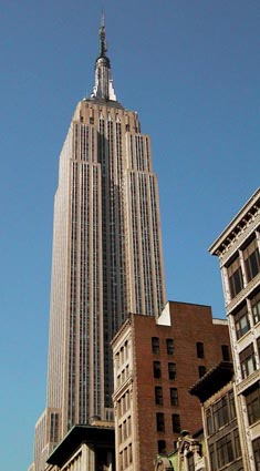 Top ten new york architecture for Names of famous towers