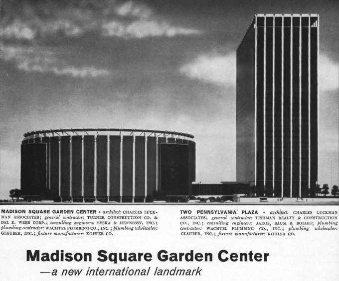 New york architecture images madison square garden center - How old is madison square garden ...