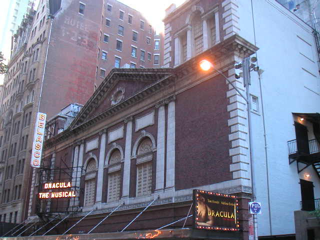 New York Architecture Images Belasco Theater