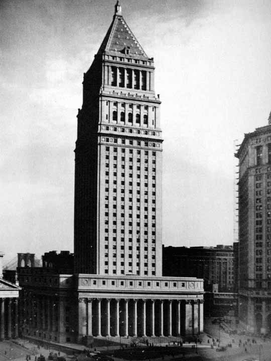 New York Architecture Images- THE U.S. COURTHOUSE